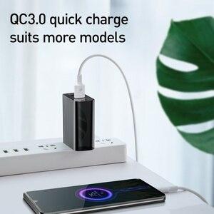 Image 5 - Baseus 60W Usb ładowarka USB typu C szybka ładowarka Dual Band gniazda Usb i usa Adapter do ładowania telefonu podróży ładowarka ścienna z 1M