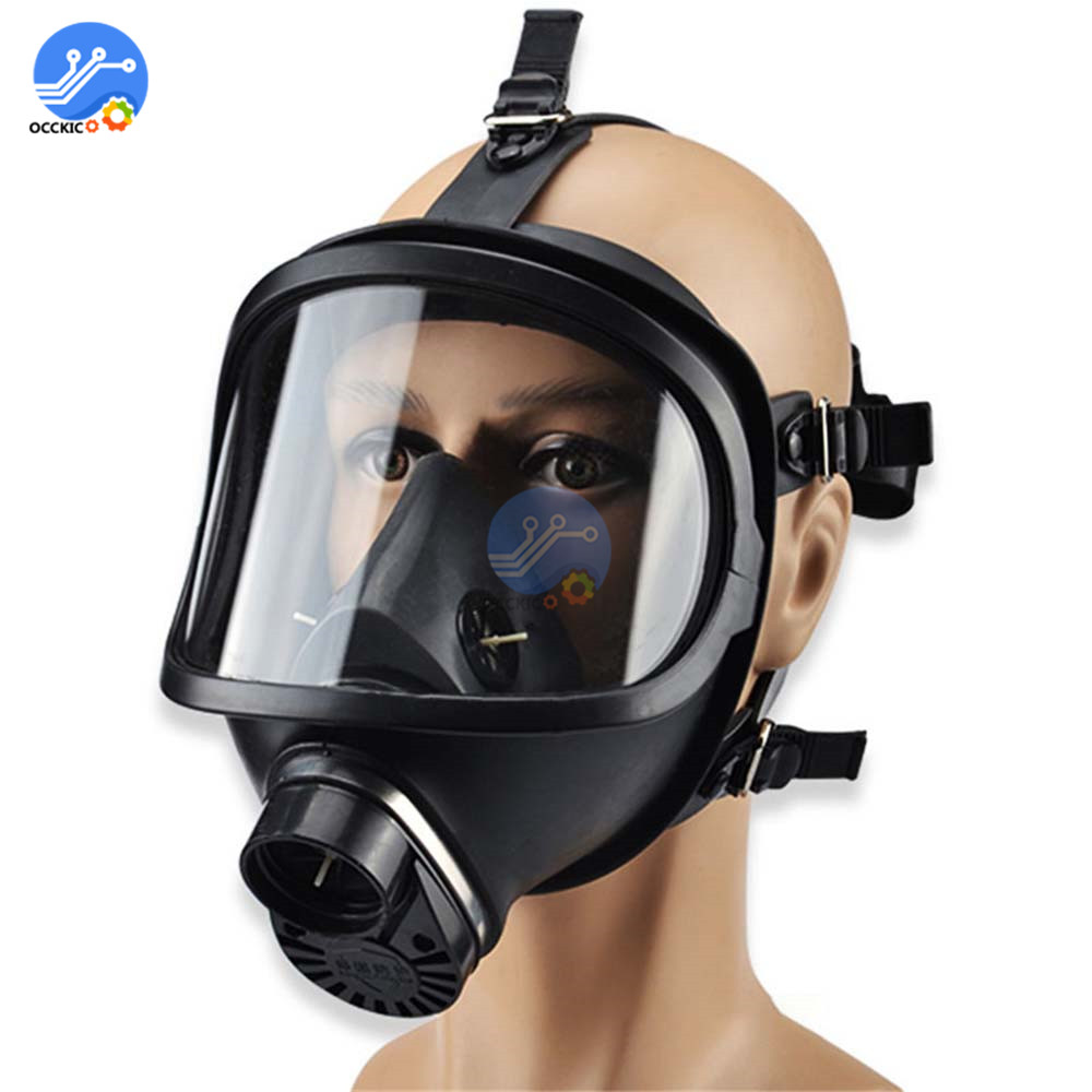 Respirator Chemical Gas Mask Military Full Face Shield Protective Frome Chemical Biological Radioactive Contamination