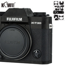 קיווי נגד שריטות מצלמה גוף כיסוי עור מגן עבור Fujifilm X T30 Fuji XT30 מצלמה אנטי שקופיות סרט 3M מדבקת צל שחור