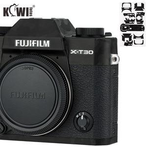 Image 1 - KIWI Anti Scratch กล้องฝาครอบผิวสำหรับ Fujifilm X T30 Fuji XT30 กล้องฟิล์มสไลด์ 3M สติกเกอร์เงาสีดำ