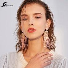 Модные дизайнерские серьги с перьями ювелирные изделия 2020