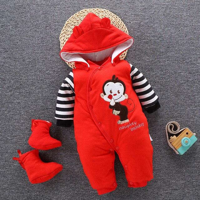 Newborn Baby Winter Snowsuit 2