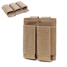 Tactical Molle Magazine Pouch Military Double/Triple Rifle Clip Bag Airsoft Paintball Gun Ammo Bullet Pouch Hunting Accessories