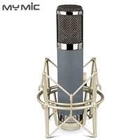 Micrófono de estudio de grabación con condensador de diafragma grande de alta calidad My Mic ME2 para transmisión de grabación vocal