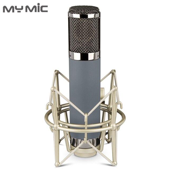 My Mic ME2 micrófono de condensador de diafragma grande de alta calidad, micrófono de estudio de grabación, juegos para transmisión Vocal