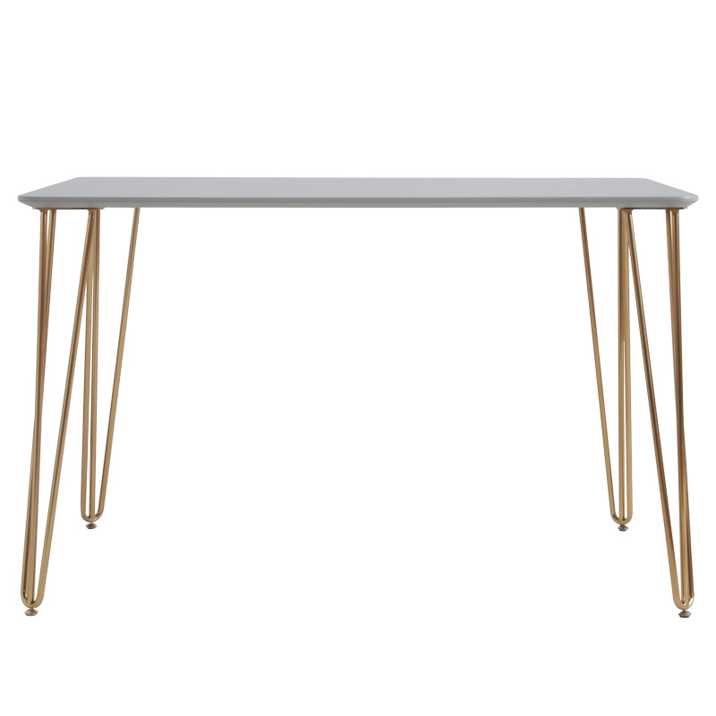 Nordic Study Desk Solid Wood Modern Simple Light Luxury Simple Writing Desk Office Ins Renting Transformation Table