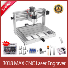 Cnc 3018 pro max máquina de gravura do cnc grbl controle com 200w eixo 15 gravador a laser 3 eixos pcb fresadora cnc roteador
