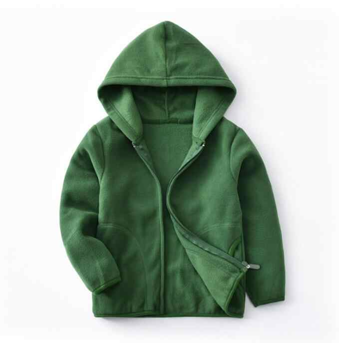 2019 New Winter Fleece Kids Jacket Coat Fashion Casual Clothing Women and Kids boys Jackets Fleece Sweatshirt