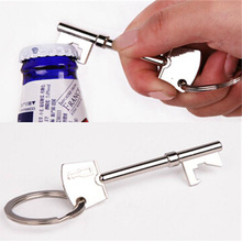 Hot Sale 1X Portable Beer Bottle Opener Metal Keychain Bottle Can Opener Key Ring Bottle Opener Kitchen & Bar Tool Drop Shipping portable football bottle opener for beer cocktails tool for opening wine world cup bottle opener keychain