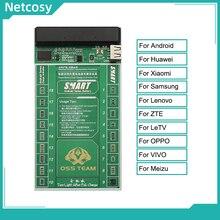 Placa de ativação da bateria do cabo do teste para o carregamento rápido da bateria do smartphone da série de android e ativado 2 em 1 ferramentas
