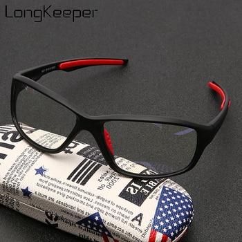 New Anti Blue Light Glasses Frame Men Women Retro Oval Black Clear Lens Eyeglasses Blocking Gaming Eyewear Oculos