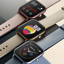 Умные часы SENBONO IP67 Водонепроницаемый P8 Смарт часы-браслет для мужчин для женщин спортивные часы монитор сердечного ритма во время сна смарт-...