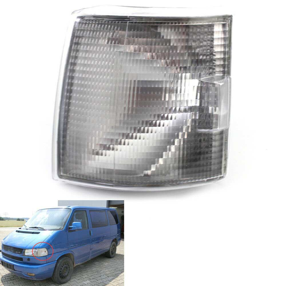 Left Clear Parking Signal Indicator Corner <font><b>Light</b></font> For <font><b>VW</b></font> Volkswagen Transporter <font><b>T4</b></font> BJ 1990-2004 7D0 953 041 C image
