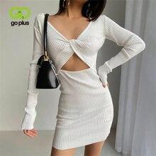Goplus Платье женское рождественское с низким вырезом на спине