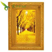 Full Diamond Painting Gold Over The Floor Diy Embroidery Large Landscape Series 2 Size