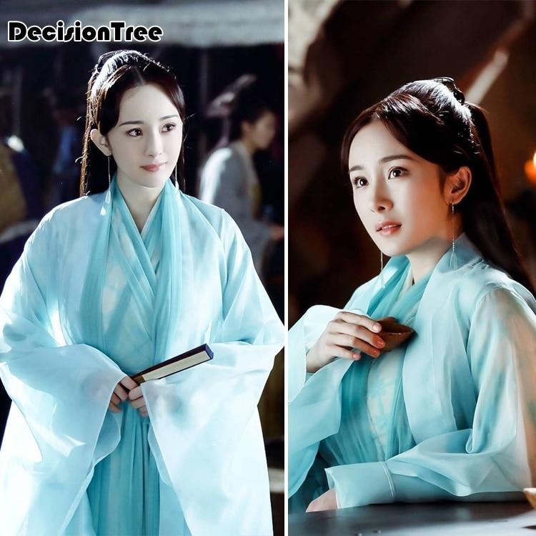 2020 Elegant Fairy Costume Hanfu For Women To The Sky Kingdom Photography Hanfu Cosplay Costume Dress