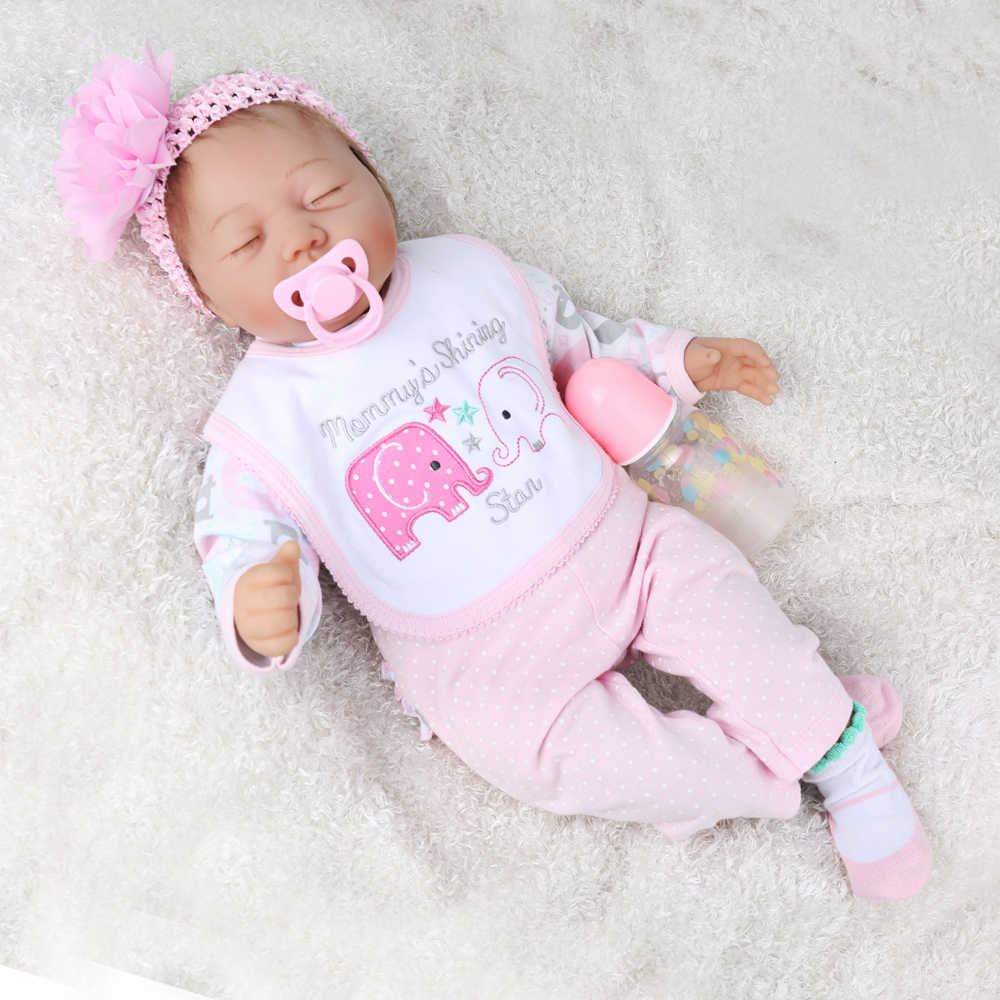 Reborn Lol Doll Lovely Lol Baby Latest Lifelike 22 Inch Girl Silicone Vinyl African Kids Boneca Girl Kaydora Aliexpress