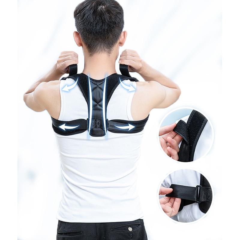 Медицинский Регулируемый Корректор осанки ключицы для мужчин, женское Бедро для мужчин, верхняя часть спины, подтяжка плеч, поясничный