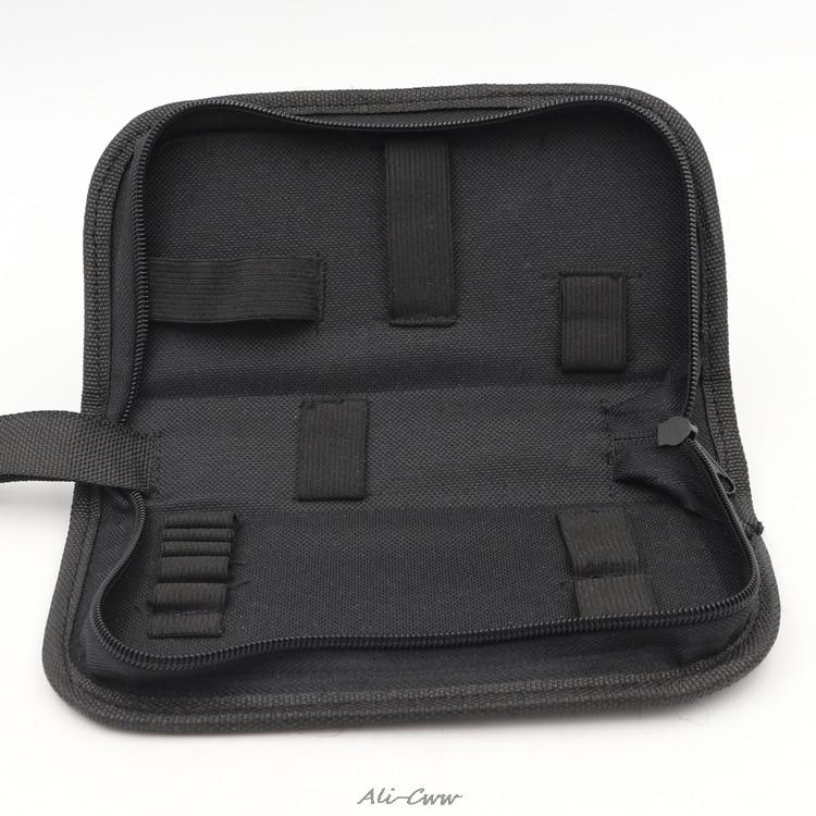 2018 Multi-functional Canvas Watch Repair Portable Tool Bag Zipper Storage