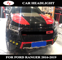 For Ford Ranger t7 Headlight 2016 2017 Everest LED Head Lamp H7 D2H Hid Option Angel Eye Bi Xenon Beam Accessories Car Styling