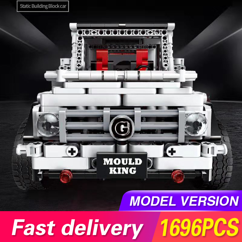 Technic Series Off-road Super Racing Car Benz White G65 Model Building Blocks Bricks Compatible lepinend Toys For Children Gifts