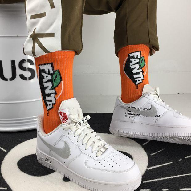 Fanta Socks Novelty Socks.Unisex Socks.
