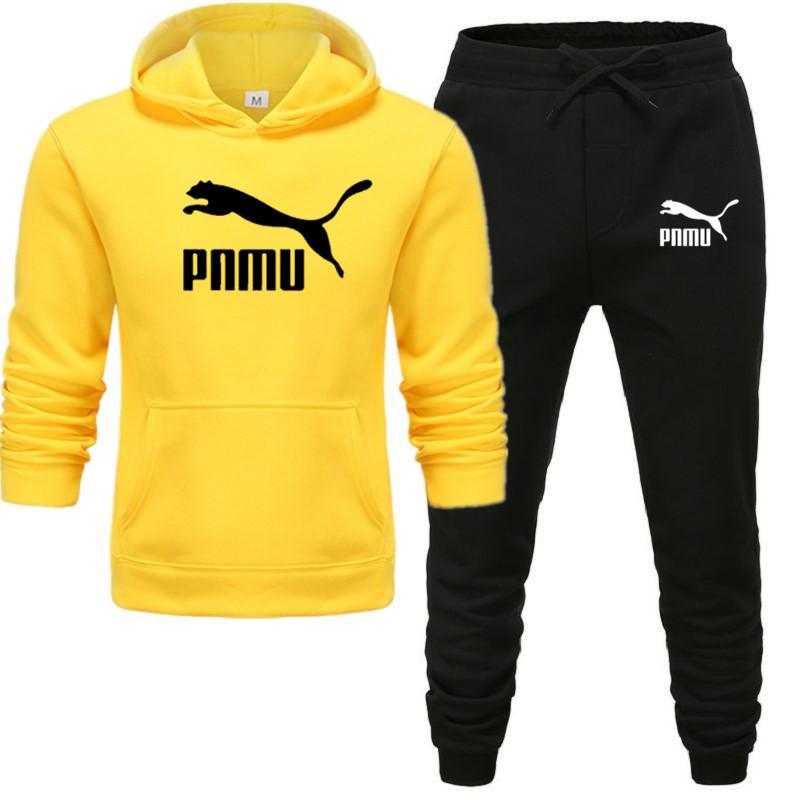 Комплект из 2 предметов, спортивный костюм для мужчин, толстовка с капюшоном + штаны, пуловер с капюшоном, спортивный костюм, Ropa Hombre, повседневная мужская одежда, размер S-3XL