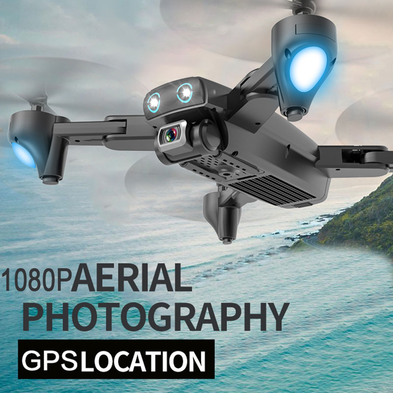 S167 GPS Location WIFI 4K Camera RC Quadcopter Foldable Selfie Remote Control Drone 2 4G 5G 4 channel 6-Axis Gyro Drones Gifts