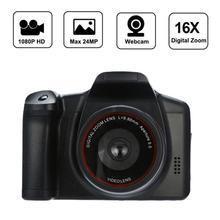 Full HD 1080P SLR Камера сухая батарея домашняя телефото цифровая камера цифровой фиксированный объектив 16X зум AV Interfac