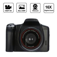 Full HD 1080P SLR Camera Dry Battery Domestic Telephoto Digital Camera Digital Fixed Lens 16X Zoom AV Interfac