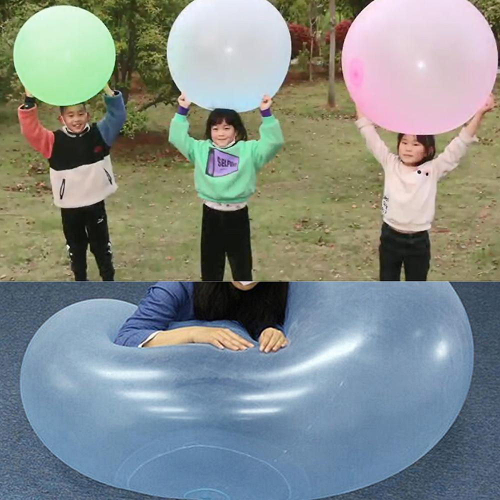 2020 New Funny Swimming Pool Toys Kids Child Toys Boys Girls Inflatable Water Ball Bubble Ball Only XL Size Can Sit