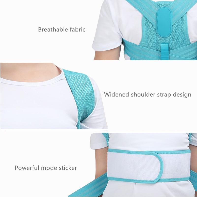 Adjustable Children Posture Corrector Belt with Detachable Shoulder Pad to Develop Good Walking and Sitting Posture 9