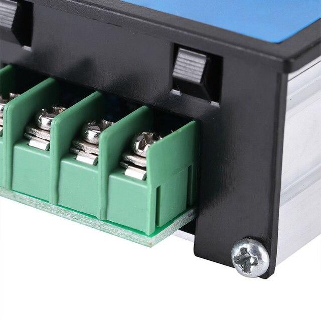 DC 10-60V 12V 24V 48V 20A PWM DC 모터 속도 컨트롤러 소프트 스타트 스위치 TE1255