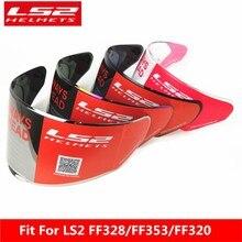 LS2 FF328 Stream motorcycle helmet Visor Lens transparent black rainbow original