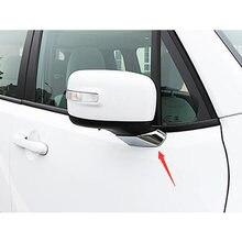 Abs хром для jeep renegade 2015 2016 2017 аксессуары авто зеркало