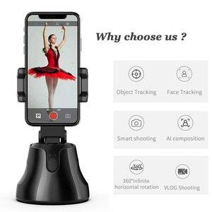 Image 2 - Apai gimba 360 ° selfie tiro cardan rosto objeto de rastreamento selfie vara auto suporte de rastreamento para vlog tiktok youtube ao vivo mostrar