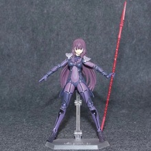 Anime Fate Grand Order Scathach PVC Action Figure Collectible Model doll toy 15cm figma 381 2017 anime legend of zelda link with skyward sword figma 153 pvc action figure collection model kids toy doll brinquedos