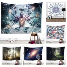 Гобелен настенный Декор ins комната спальня общежития украшения слон этнические обои дом Декор одеяла