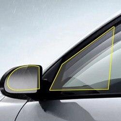 2*pcs Car Rearview Mirror Protective Film Anti Fog Membrane Anti-glare Waterproof Motorcycle Window Rainproof Auto Clear Sticker