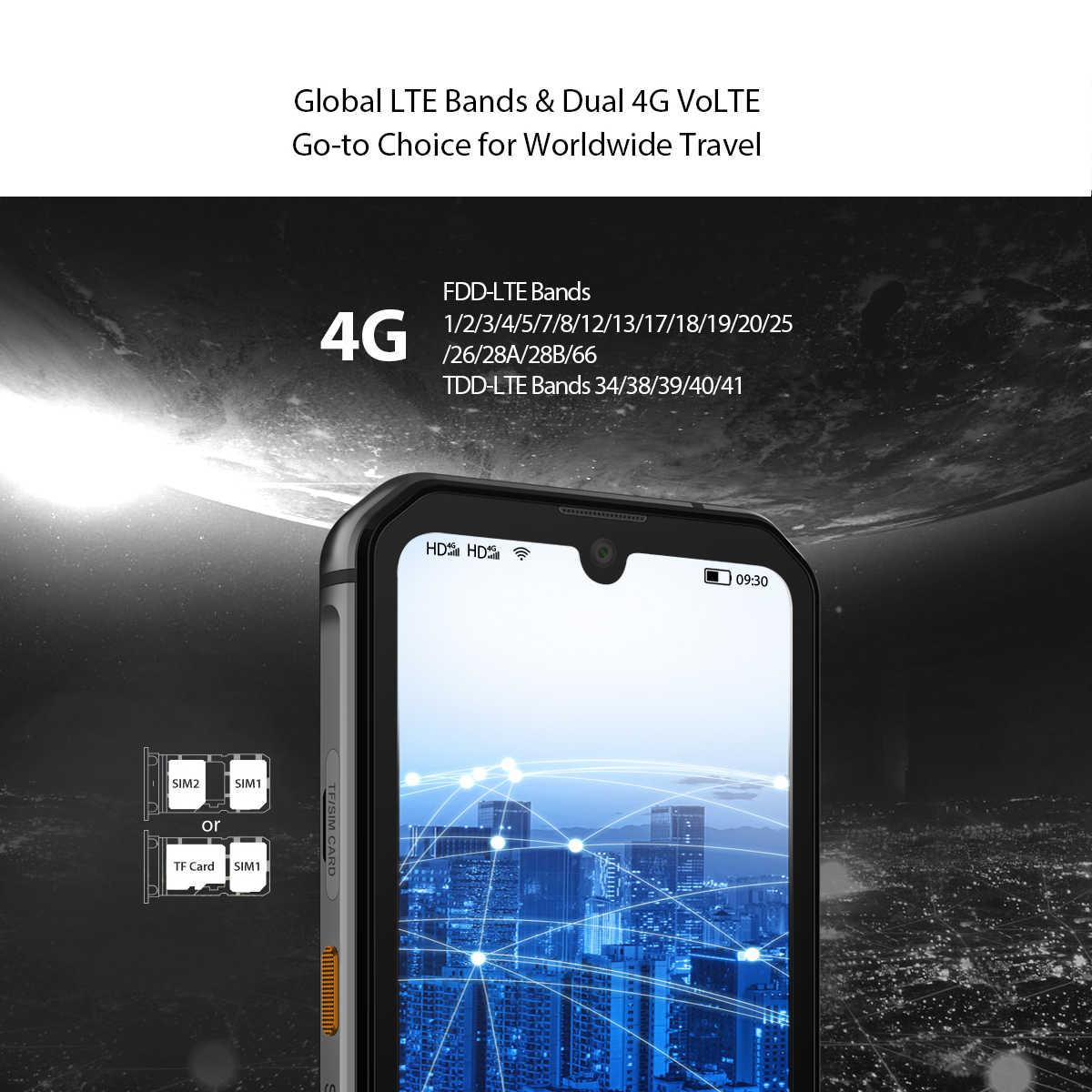 Blackview BV9900 Pro Telefono Mobile Della Macchina Fotografica Termica Helio P90 Octa Core 8GB + 128GB IP68 Rugged Smartphone 48MP quad Telecamera Posteriore