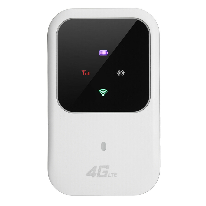 Portable Pocket 4G LTE WIFI Router 150Mbps Mobile Broadband Hotspot SIM Unlocked Wifi Modem 2.4G Wireless Router With Card Slot