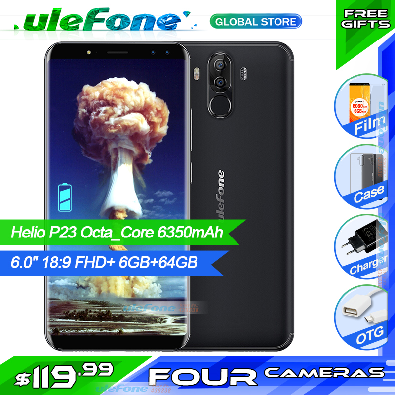 Ulefone Power 3S MTK6763 Octa Core Mobile Phone 6 0 18 9 FHD Android 7 1