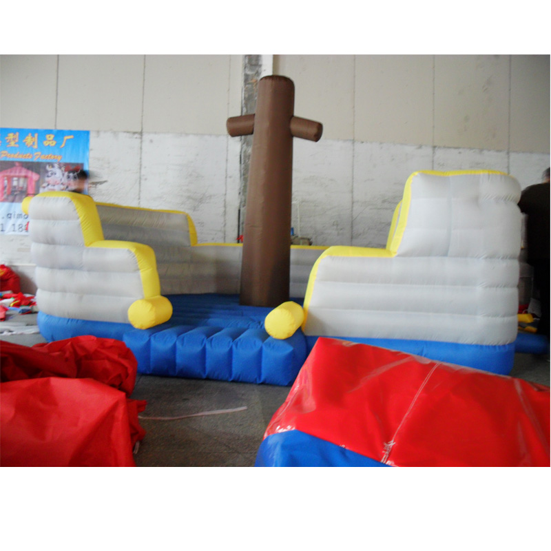 inflatable pirate ship amusement park for kids