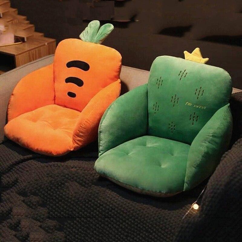 3 Size Cushion Pillow Office Chair Cushion,Luxury Cartoon Cushions Home Decor Cute Pillows,Removable Washable Cushion New 1 PC