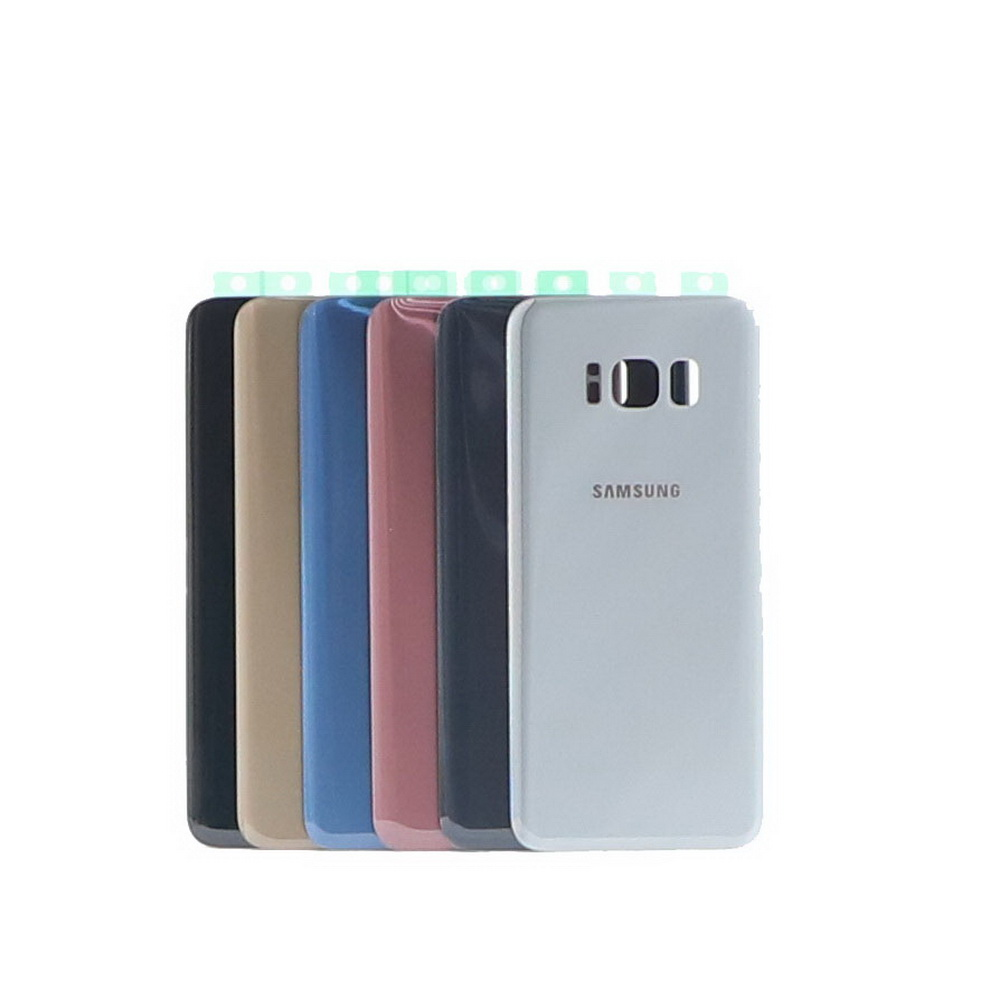 For Samsung Galaxy S8 S8Plus G950 SM-G950F G950FD G955 SM-G955F G955FD Back Rear Glass Case SAMSUNG S8 Phone Back Battery Cover