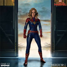 For Collection Mezcos Toyz 1/12 Scale 76670 Captain Marvel Female Collectible Figure Toy Presale(China)