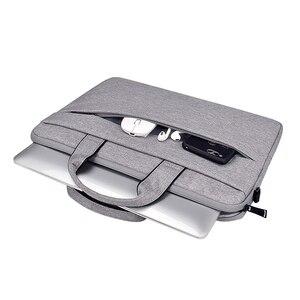 Image 3 - Bolsa impermeable para ordenador portátil, funda para Macbook Air Pro 13 13,3, bolso de hombro, maletín, 14 pulgadas, 15,6, 15,4