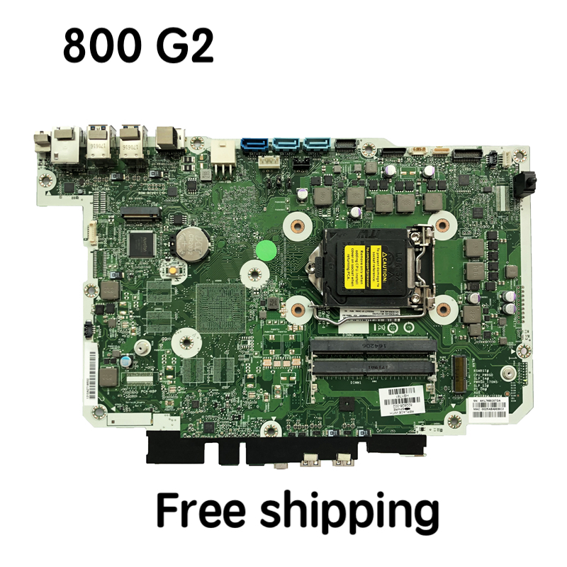 798964-002 For HP EliteOne 800 G2 AIO Motherboard 822826-002 822826-602 Mainboard 100%tested Fully Work
