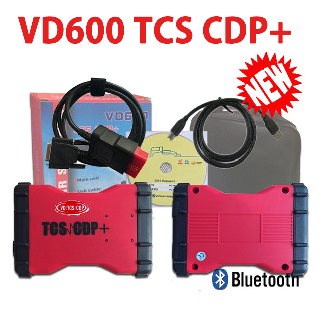 2019 Latest 2016 R0 NEW keygen vd ds150e cdp VD600 vd tcs cdp pro plus bluetooth wow cdp for delphis autocome obd2 Scanner tool