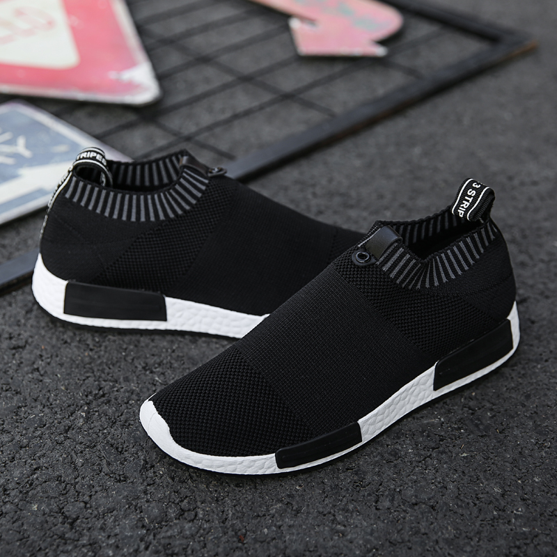 Hot Sale Running Shoes Light Breathable Comfortable Non-slip Men's Sneaker Casual Wear-resisting Outdoor Walking Men Sport Shoes